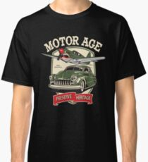 Motor Age Clothing Vintage Warbird  Classic T-Shirt