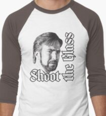 Shoot the Glass Men's Baseball ¾ T-Shirt