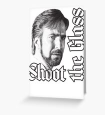 Shoot the Glass Greeting Card