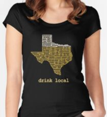 Drink Local (TX) Women's Fitted Scoop T-Shirt