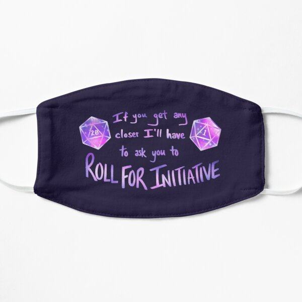Roll for Initiative - Purple Mask