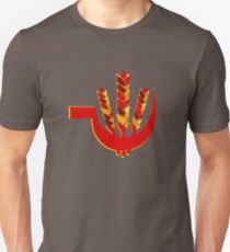 Wheat and sickle  - Symbol of People's Union of India  Unisex T-Shirt