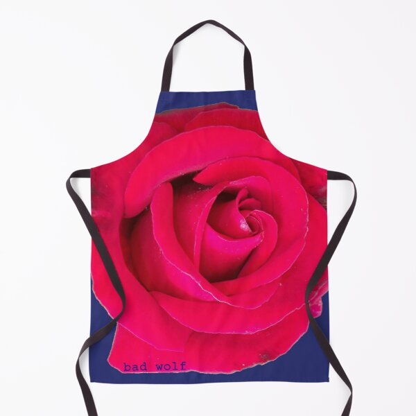 Rose, the Bad Wolf Apron