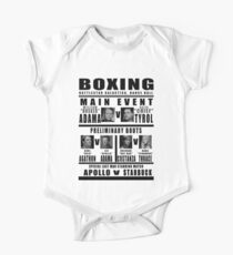 BSG Boxing Card Kids Clothes