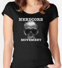 The Nerdcore Movement Official T-Shirt Women's Fitted Scoop T-Shirt