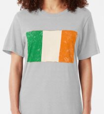 Irish Flag Slim Fit T-Shirt