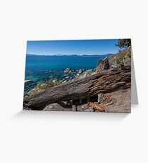 At Secret Harbor - Lake Tahoe Greeting Card