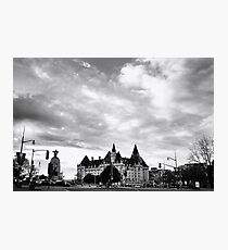Chateau Laurier Hotel Photographic Print