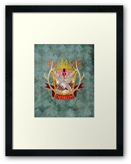 Hannibal Crest by ravefirell