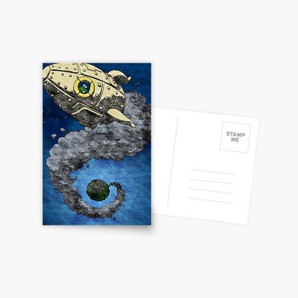 Bye bye (variation) Postcard
