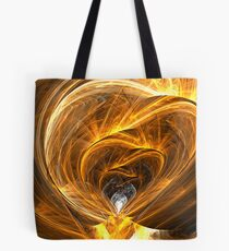 The Heart Gem Cave Tote Bag