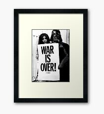 Darth Vader with Yoko Ono Framed Print