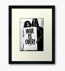 Darth Vader with Yoko Ono Framed Print