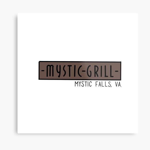 Mystic Grill Metal Print