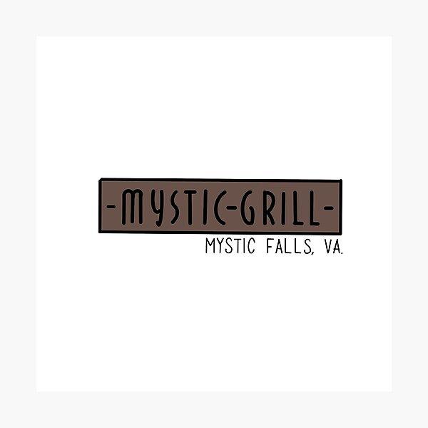 Mystic Grill Photographic Print