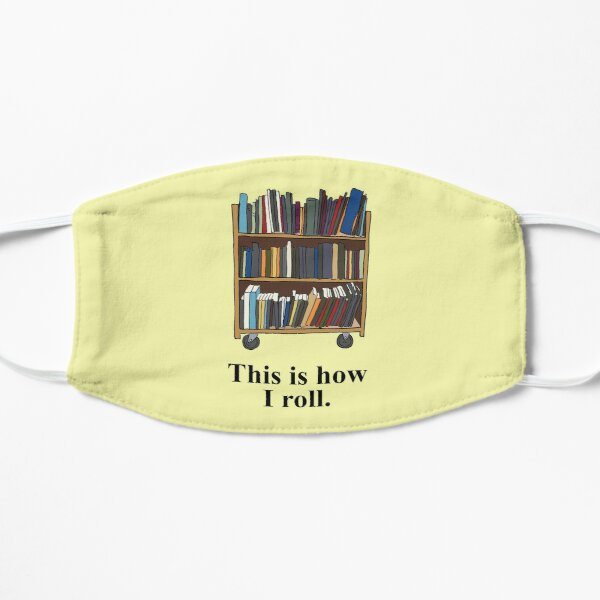 Funny Librarian, Library Assistant Yellow Mask