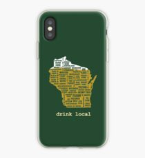 Drink Local (WI) iPhone Case