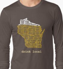 Drink Local (WI) Long Sleeve T-Shirt