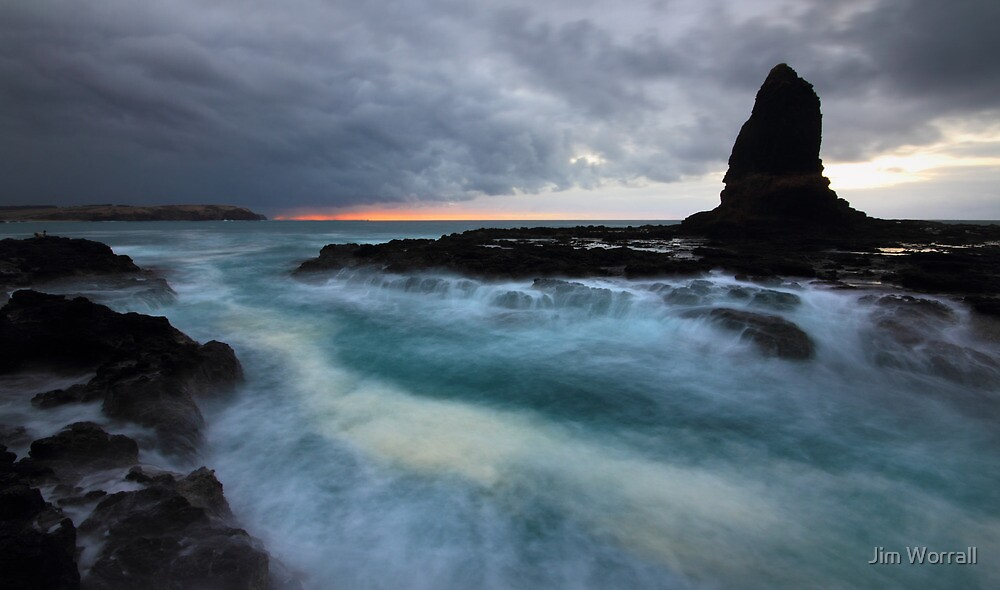 Sunrise at Pulpit Rock - Cape Schanck by Jim Worrall