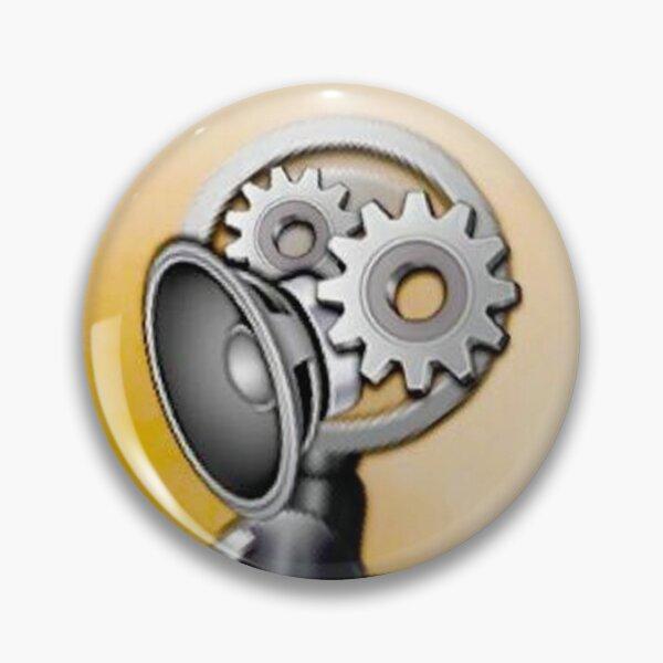 Emoji Robot Pin