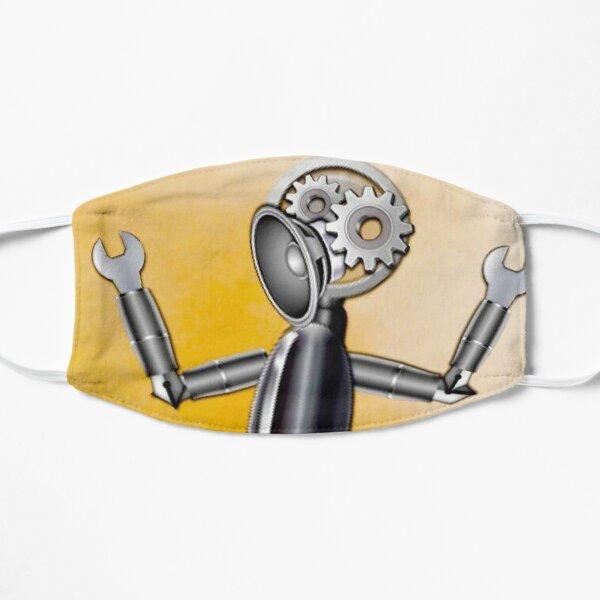 Emoji Robot Flat Mask