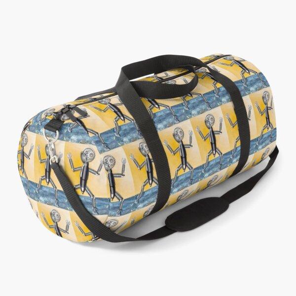 Emoji Robot Duffle Bag