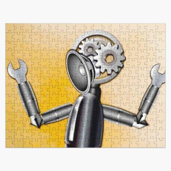 Emoji Robot Jigsaw Puzzle