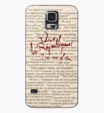 Funda/vinilo para Samsung Galaxy Citas de Grantaire + Vive la République