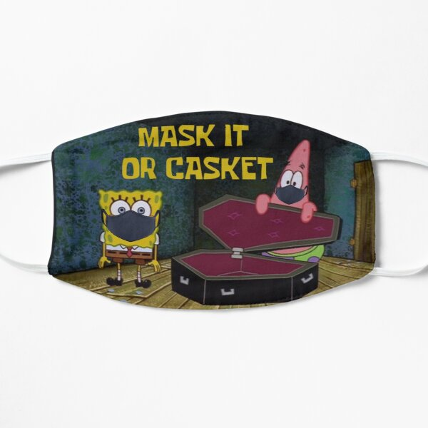 Mask It Or Casket Flat Mask