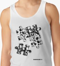 Warehouse 13 Items Puzzle Tank Top