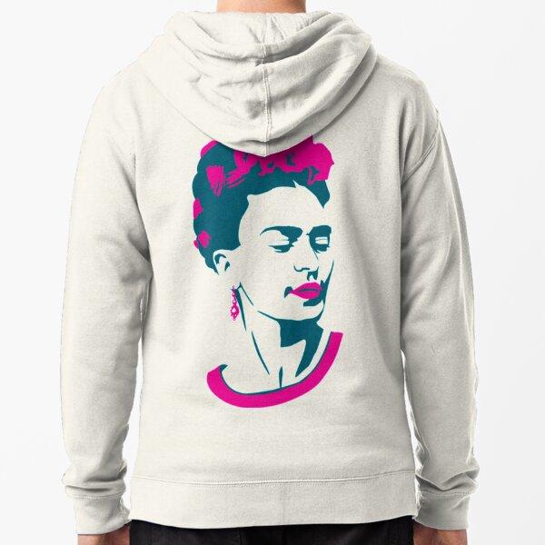Frida Khalo Zipped Hoodie