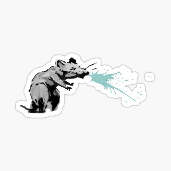 corona virus rat sneezing Sticker