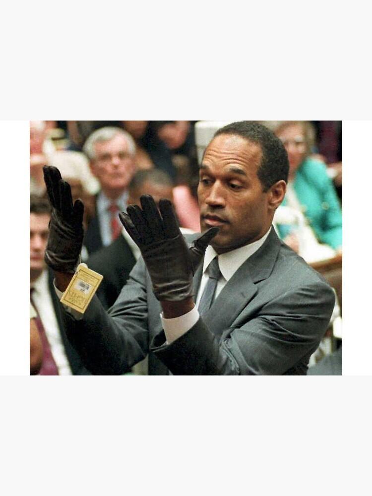 Oj Simpson Handschuhe