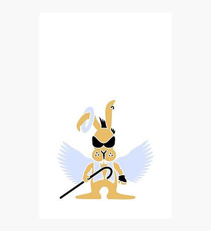 Bunny Punk Angel VRS2 Photographic Print