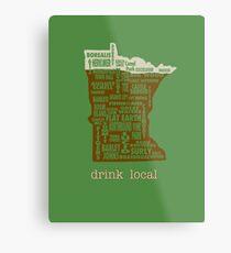 MN Drink Local Metal Print