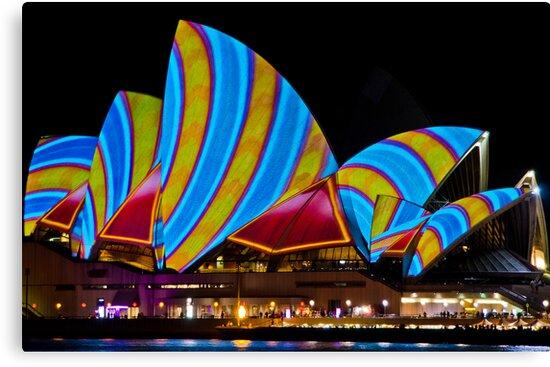 Sydney's Vivid Festival 2013 I by Adam Le Good