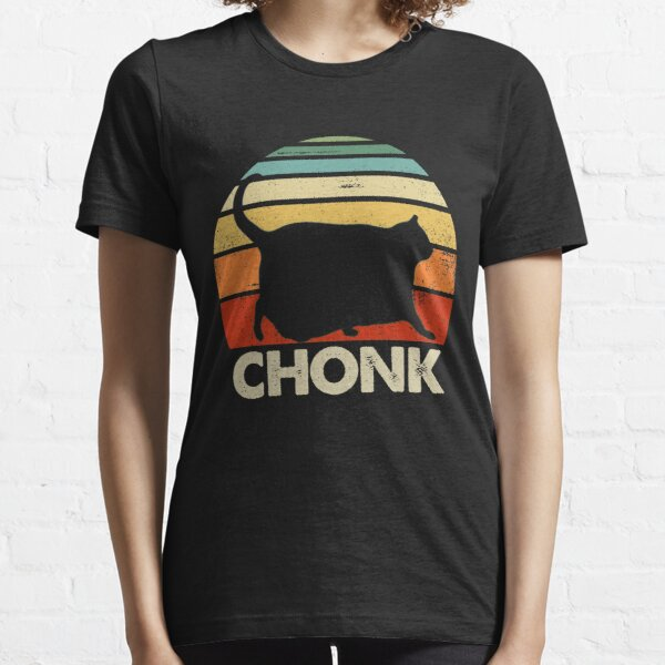 Chonk Cat Retro Vintage Essential T-Shirt