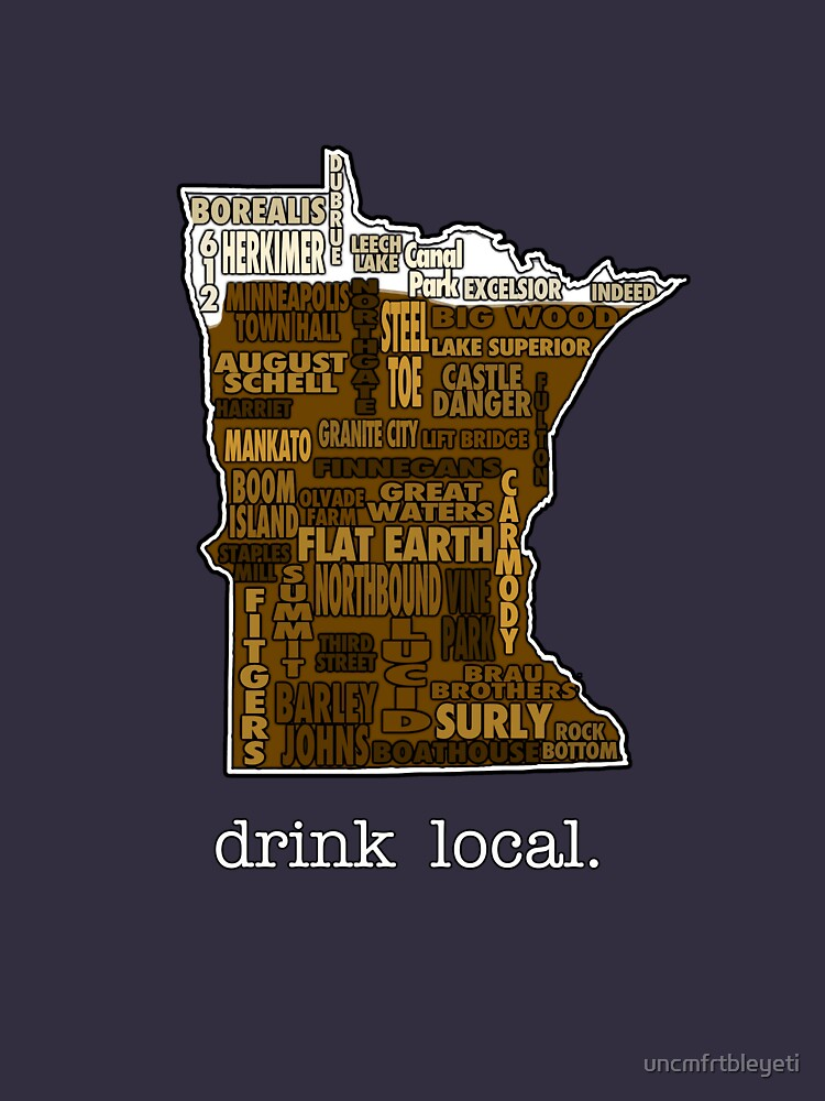 Drink Local (MN) | Unisex T-Shirt