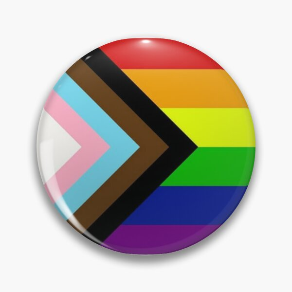 Pride 2020, white Pin
