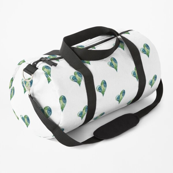 LEAF HEART Duffle Bag