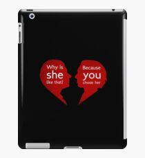 John and Mary - Sherlock iPad Case/Skin