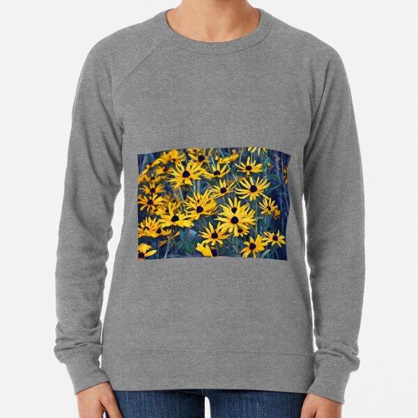 Wild Black-Eyed Susans in the Morning Lightweight Sweatshirt
