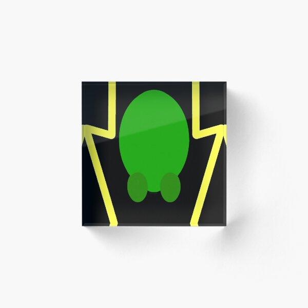 King Fla'neiel Character Lightning Icon Acrylic Block