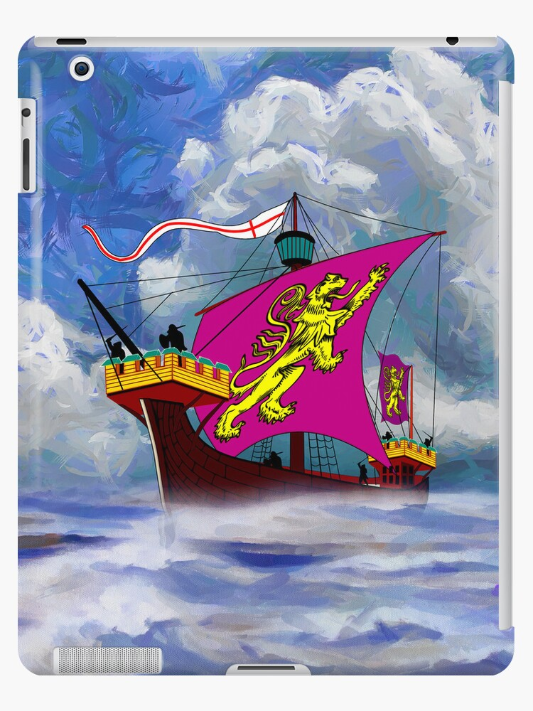 A 13th century English Fighting Ship - iPad/iPhone by Dennis Melling