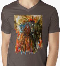 Annatar & Morgoth Mens V-Neck T-Shirt