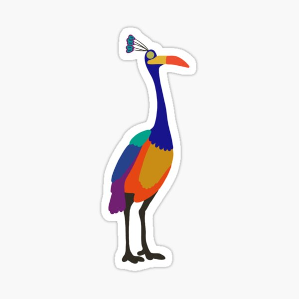 adventure is out there — bird Sticker