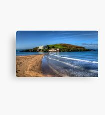 Burgh Island, Bigbury on Sea Canvas Print