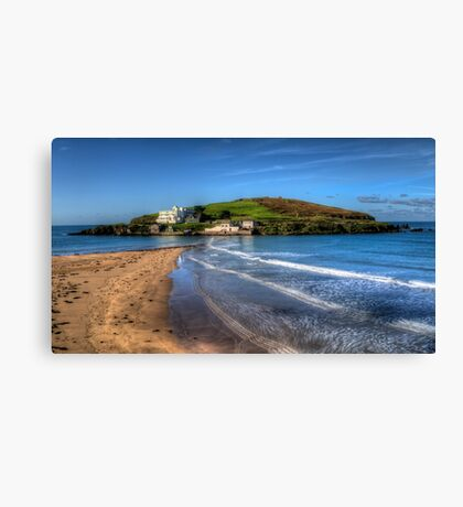 Burgh Island, Bigbury on Sea Canvas Print