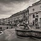 Piazza Navona by Andrea Rapisarda