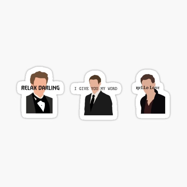 Le pack de slogans Mikaelson Brothers Sticker